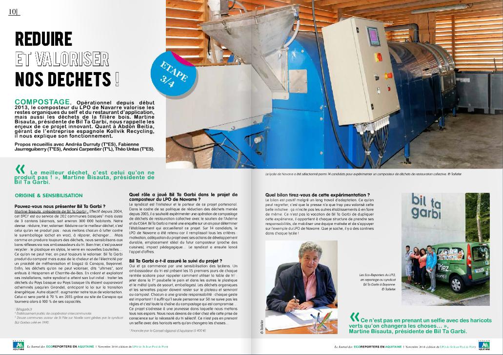 Kollvik-Recycling-compost-Reportaje en 'Ecoreporteurs en Aquitaine'