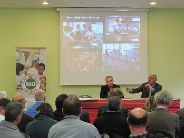 Kollvik-Recycling-compost-Intervención del presidente del Consejo General de Aquitania, Alain Rousset