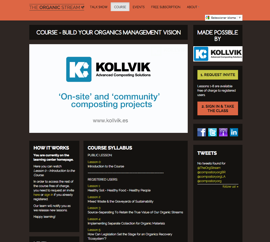 kollvik course the organic dtream