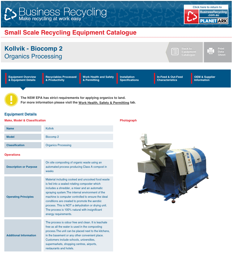 kollvik dans Business Recycling catalogue
